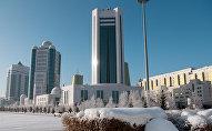 Здание правительства Казахстана в Астане