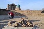 В близи городища Культобе обнаружены места кокандских и казахских поселений