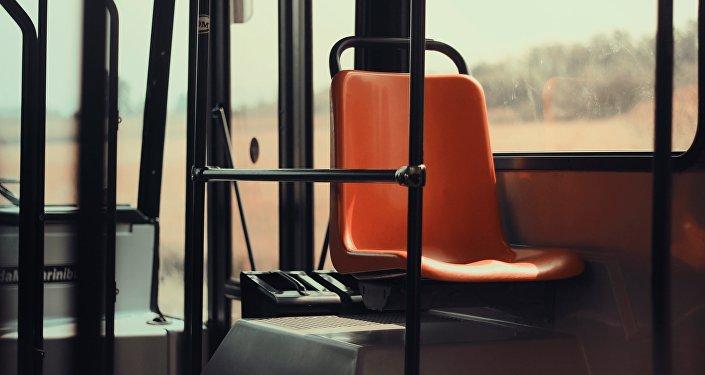 Салон пасажирского автобуса