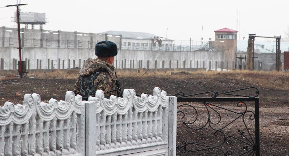 Колония строгого режима в поселке Долинка Карагандинской области
