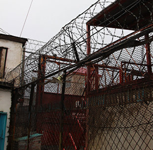 Қарағанды облысы Долинка аулындағы қатаң режимді колония