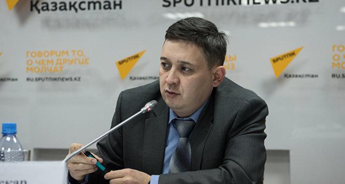 Начальник управления внешней миграции Департамента миграционной полиции МВД РК Аскар Нурымбеков
