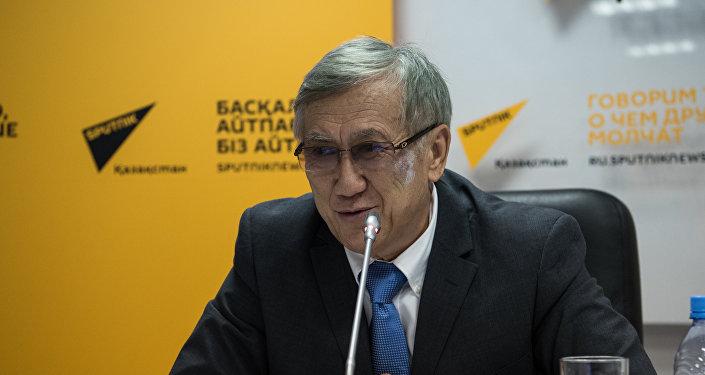 Председатель этнокультурного объединения Кыргызстан — Астана Шавкат Исмаилов