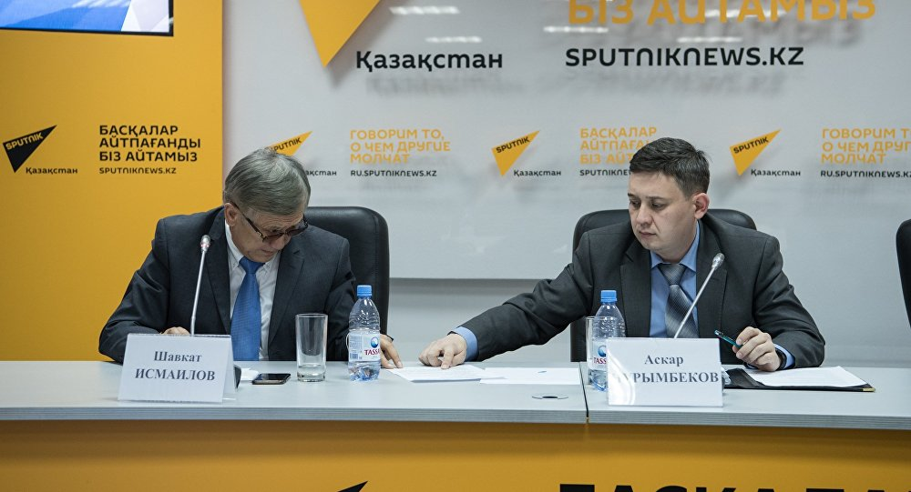 Шавкат Исмаилов и Аскар Нурымбеков