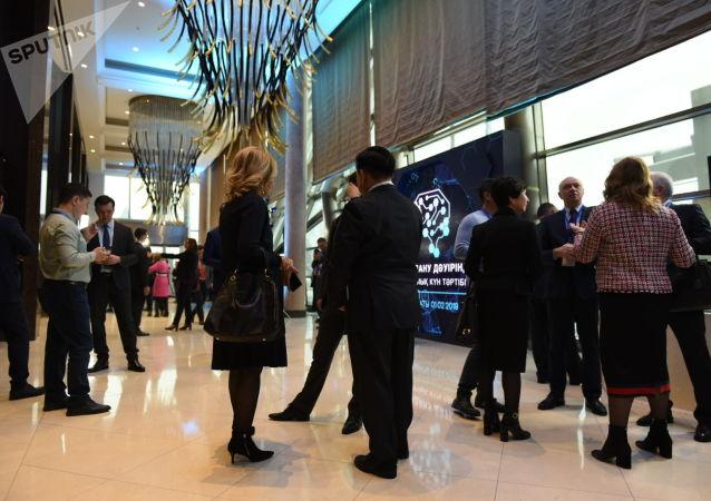 Участники форума Цифровая повестка в эпоху глобализации 2.0: Евразийская инновационная экосистема