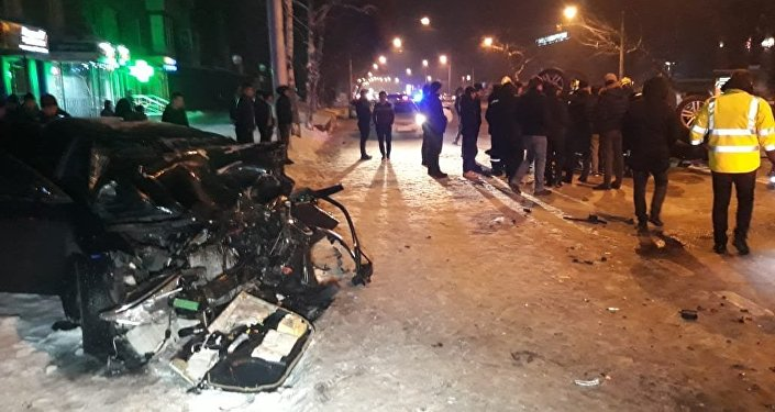 Алматыдағы жол апаты: 7 адам зардап шекті