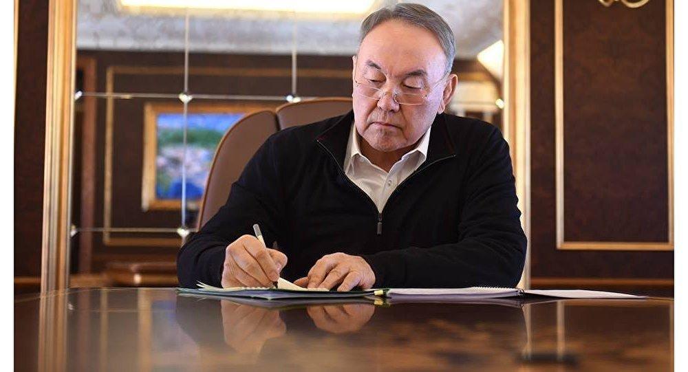 ҚР президенті Нұрсұлтан Назарбаев