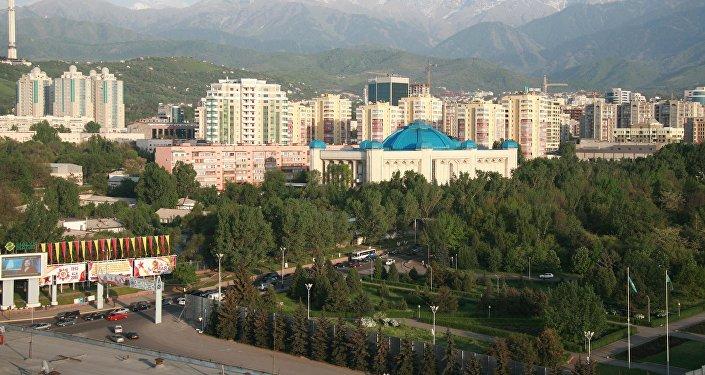 Архивное фото централного госмузея Казахстана в Алматы