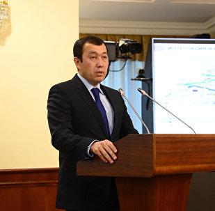 Қазақстан темір жолы ҰҚ АҚ президенті  Қанат Алпысбаев