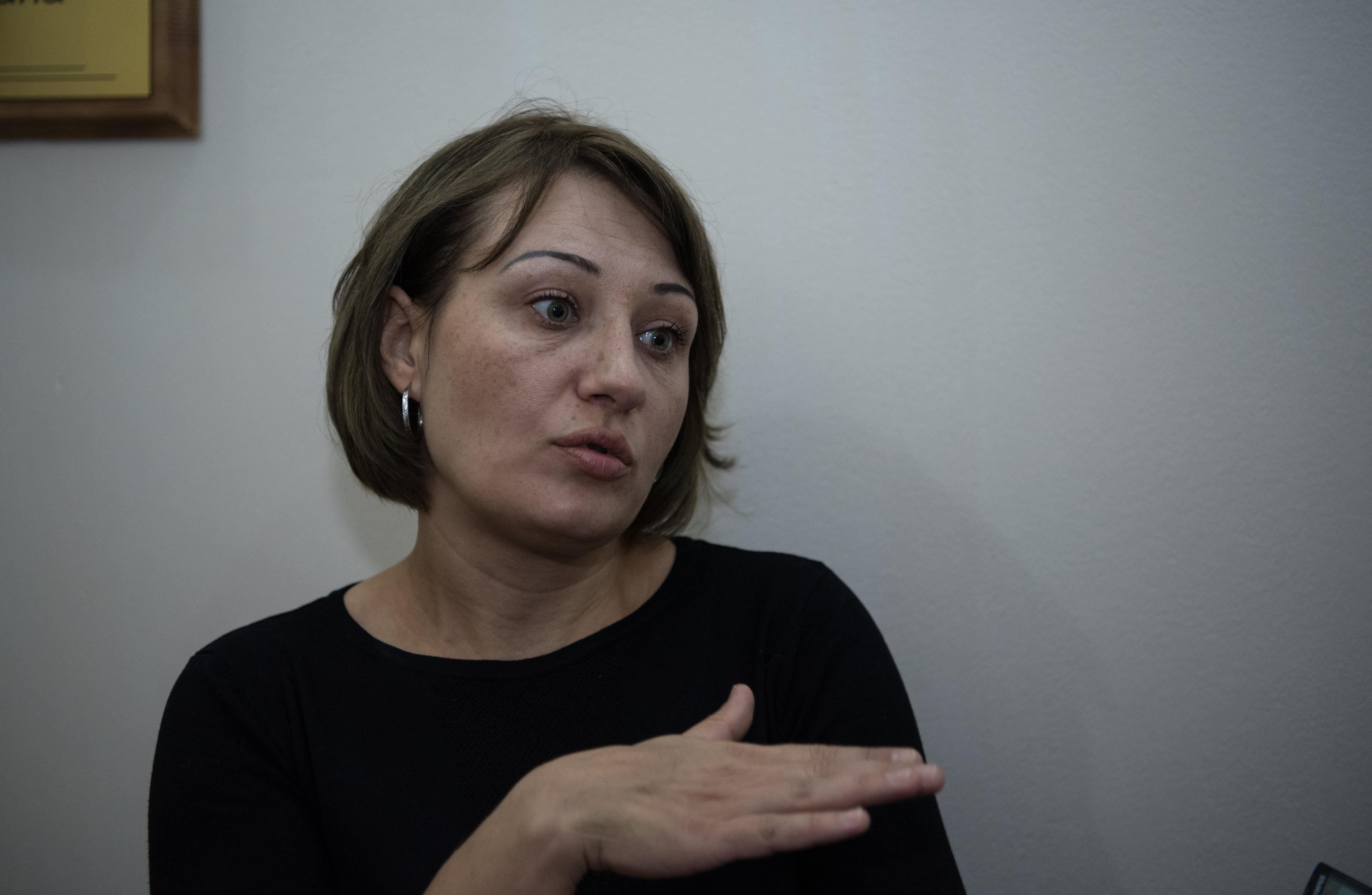 Супруга Лери Сванидзе Оксана