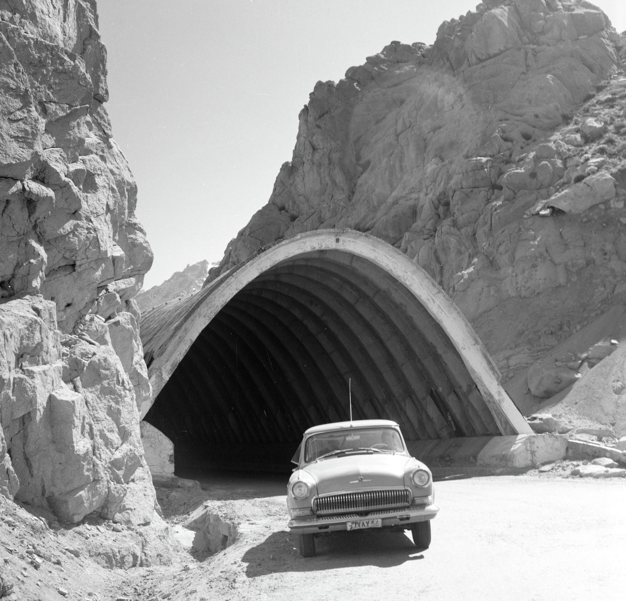 Тоннель Саланг в советcкие годы