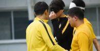 Как тренируются незрячие казахстанские футболисты – видео