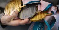 Паралимпиада медальдері, архив сурет