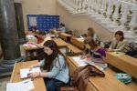 Прием документов при поступлении на обучение в МГУ, архивное фото