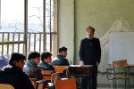 В учебной аудитории Кабульского политехнического института