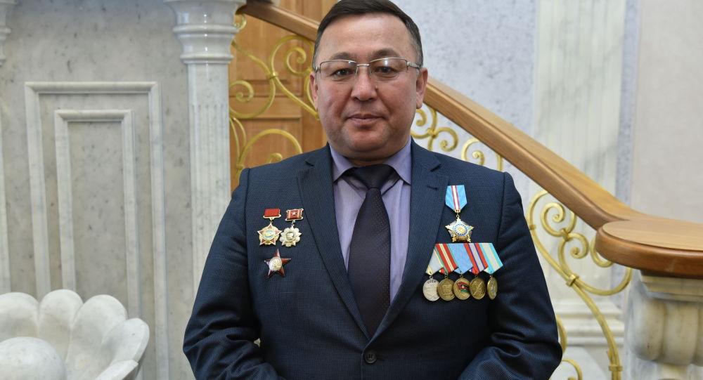 Заместитель председателя Союза ветеранов Афганистана и локальных войн РК Серик Осанов