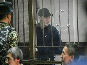 Руслан Кулекбаев в зале суда