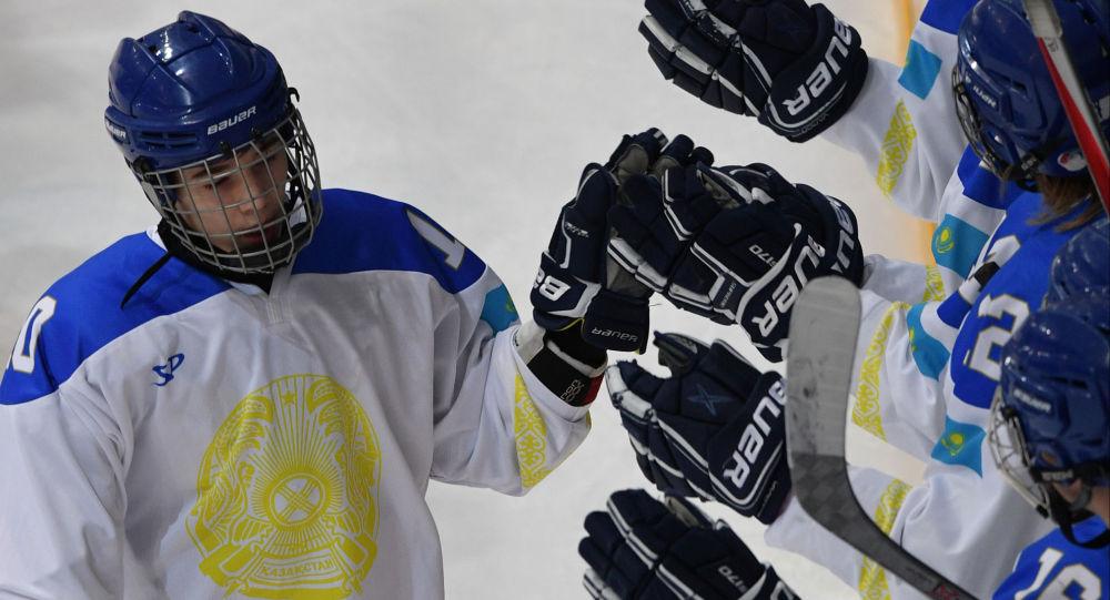 Хоккейный матч Якутия - Казахстан