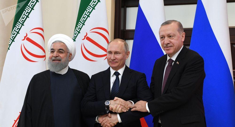 Встреча в Сочи глав государств-гарантов сирийского урегулирования