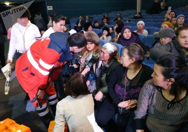 Многодетные матери на встрече с представителями акимата Астаны