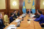 Нұрсұлтан Назарбаев халықаралық спорт сайыстарының жеңімпаздарымен және жүлдегерлерімен кездесті