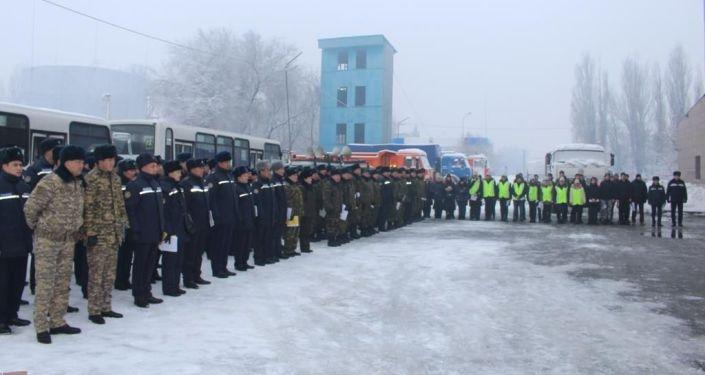 Департамент по ЧС Алматинской области организовал в регионе Дни пожарной безопасности в жилом секторе