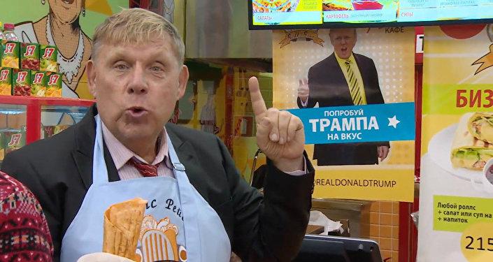 Трамп-ролл и Хиллари-ролл: в московском кафе появилось предвыборное меню