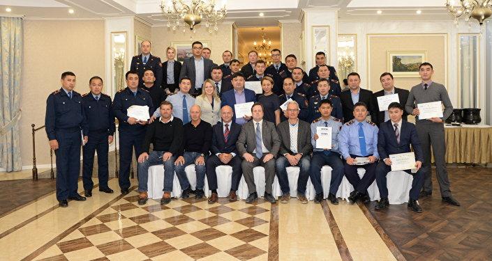 Обучающий семинар для казахстанских полицейских в преддверии EXPO