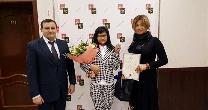 Бибисара Асаубаева получила квартиру в Подмосковье