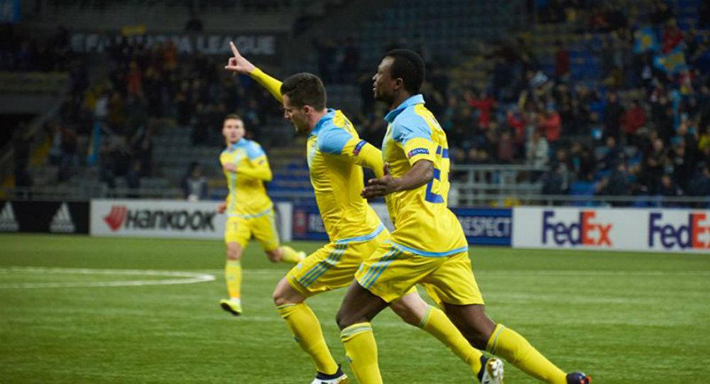 «Астана» сыграла вничью с«Олимпиакосом» вЛиге Европы