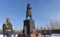 В Астане почтили память героев-панфиловцев
