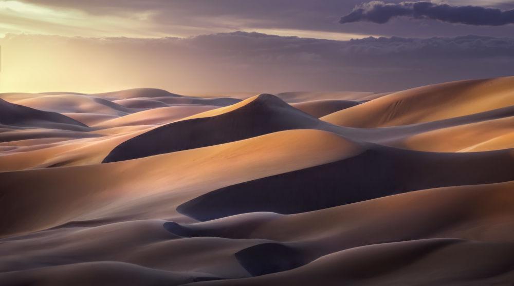 Снимок Imperial Dunes фотографа Greg Boratyn, занявший 2е место конкурса