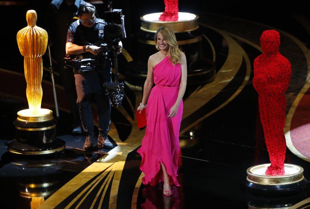 Актриса Джулия Робертс на церемонии вручения Оскар-2019