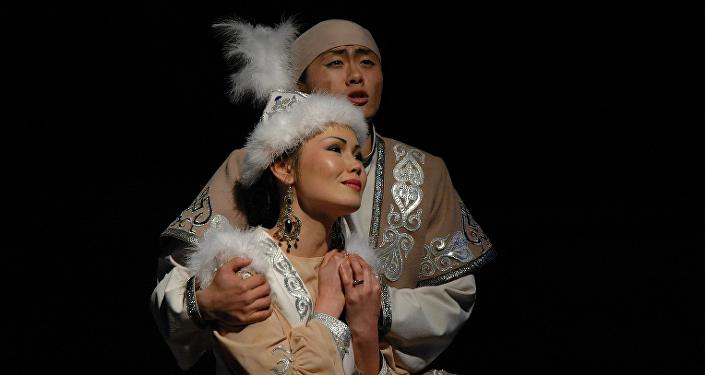 Мемлекеттік Корей музыкалық комедия театрындағы Қарагөз спектаклі