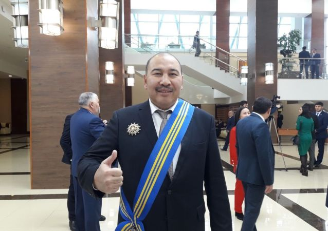 Боксер Ермахан Ибраимов