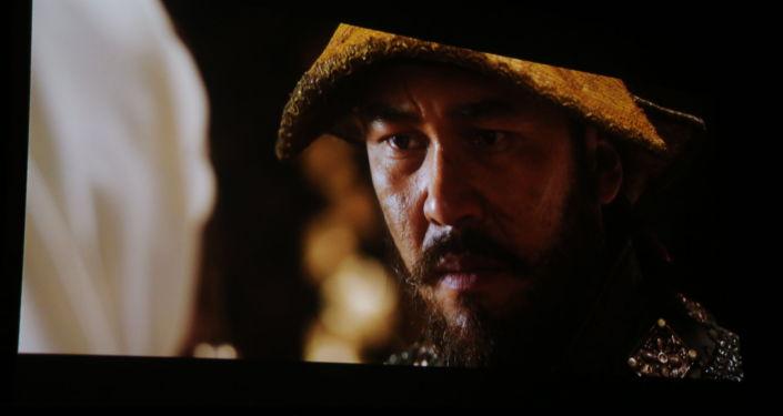 Кадр из фильма Казахское ханство. Золотой трон