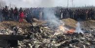 Кадры с места падения самолетов ВВС Индии, сбитых Пакистаном