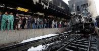 Крушение поезда в Каире