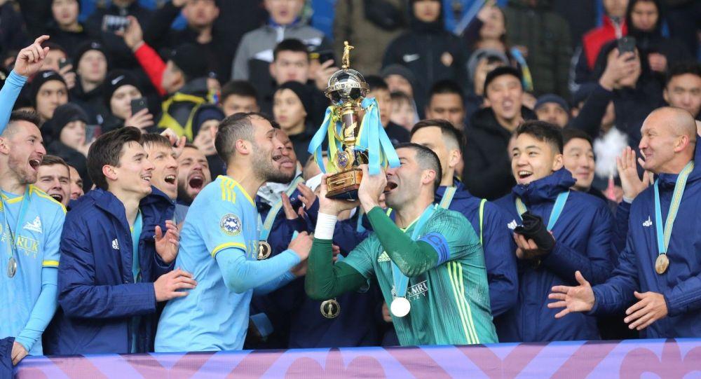 Астана 2019 жылғы Суперкубокты жеңіп алды