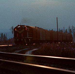 Поезд железная дорога жд пути