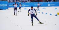 Казахстанский лыжник Асет Дуйсенов