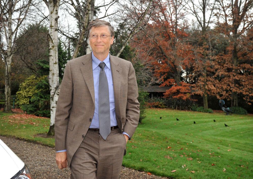 Microsoft компаниясының басшысы Билл Гейтс.