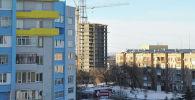 Недостроенная многоэтажка в Петропавловске, рядом с которой было найдено тело студентки