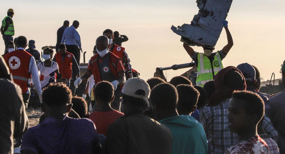 Апатқа ұшыраған Ethiopian Airlines ұшағының сынықтары