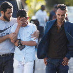 Родственники погибших в авиакатастрофе в Эфиопии