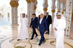 Нурсултан Назарбаев посетил мечеть шейха Заида в Абу-Даби