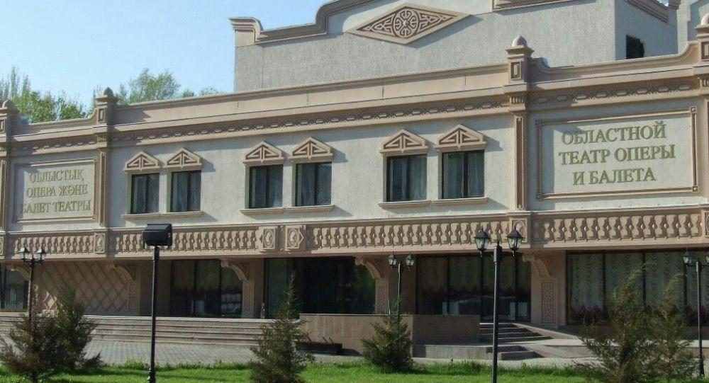 Областной театр оперы и балета в Шымкенте