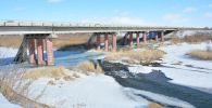 Мост через реку Жабай в Акмолинской области
