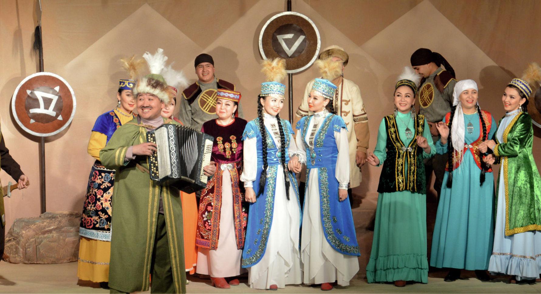 Спектакль Шымкентского городского театра сатиры и юмора