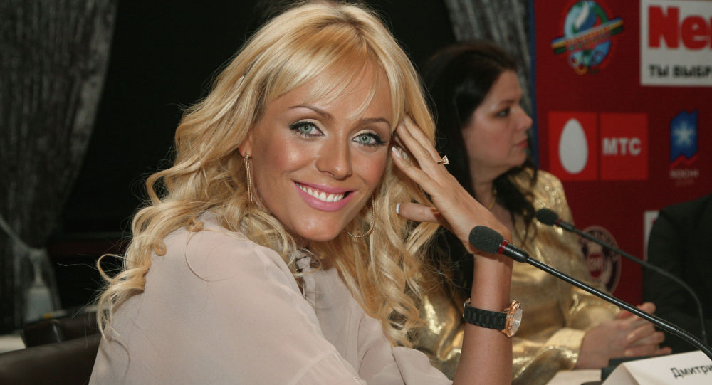 Певица Юлия Началова, архивное фото